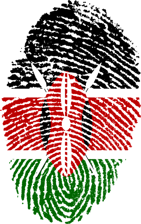 kenya finger print from pixabay
